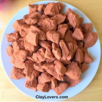 Red Khadi Clay